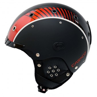 Casco SP-3 Airwolf Racing Red Helmet