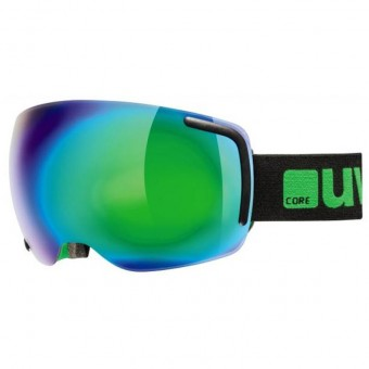 Uvex Big 40 FM Black/Green Goggles