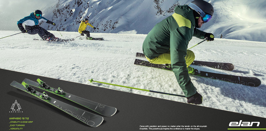 Elan Amphibio 18 Ti2 and Elan Ambpibio 16 Ti ski 2020 at lowest price